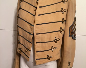 Amazing Antique Marching Band Tail Coat by De Moulin Bros & Co SALE 30% OFF