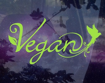 Vegan - Vinyl Decal