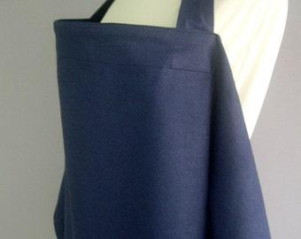 Nursing Cover,Blue nursing cover,Breastfeeding Cover,Hooter Hider, Nursing Apron