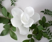 Magnolia Headpiece- 3D Printed Floral Accessory with Comb