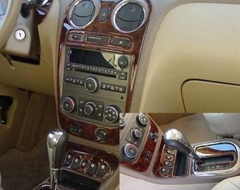 Chevrolet Chevy HHR 2006 2007 2008 Interior Set Wood Dash Trim Kit 26 Pcs