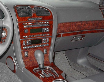 Lincoln LS 2000 SUV Full Interior Set Wood Dash Trim Kit 27 Pcs