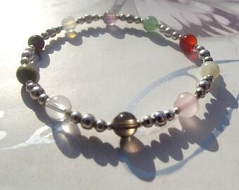 Fertility healing gemstone bracelet