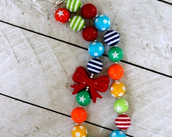 circus chunky bubblegum bead necklace girls bubblegum necklace birthday circus chunky bead necklace bubblegum bead necklace circus necklace