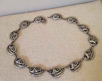 Sterling Silver Calla Lily Necklace by Danecraft