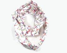 World Map scarf, rainbow infinity scarf, map scarf, circle scarf, world map accessory, lgbtq accessory, pride accessory