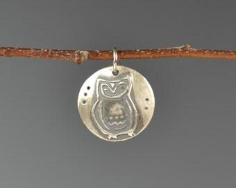 Owl totem-talisman-charm-amulet