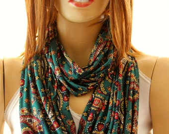 authentic infinity scarf, loop scarf, scarf, scarves, spring scarf, winter scarf, green infinity scarf, scarves, loop scarves, circle scarf