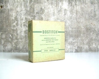 "Vintage Bostitch Staples STCR 5019-1/2"" Full Box 5,000"