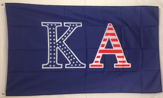 Kappa Alpha Order USA Letter Fraternity Flag 3 By