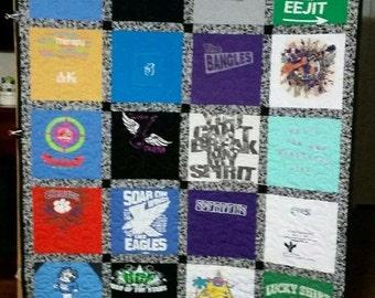 Memory blanket comfort blanket loved ones clothes