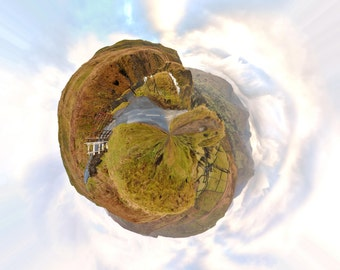 Yorkshire Dales 360 Panorama, Wensleydale Tour De France Route