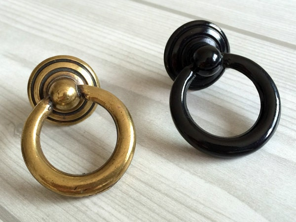small drop ring pulls dresser pull knobs drawer knob pulls handles rings antique bronze black kitchen cabinet pulls knobs vintage style