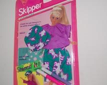 Vintage Skipper Doll Clothes Stencil It Activities