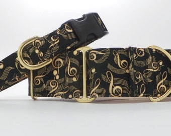 Treble Maker Dog Collar (Martingale, Buckle or Tag)
