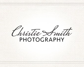 Premade Photography Signature Watermark + Logo - L061