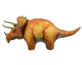"SALE - Jumbo 50"" Triceratops Dinosaur Balloon - by Celebration Lane"
