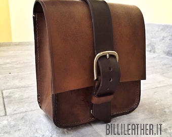 Motorcycles leather bag