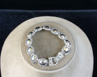 Vintage Silvertone Bracelet