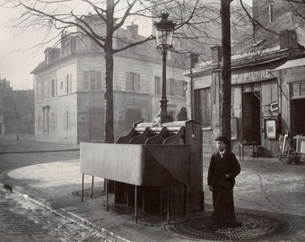 France Urinals in the 1860's Public Urinals Photo Print