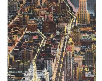 Chicago Illinois Vintage Postcard (unused)
