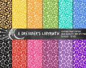Leopard Print Digital Papers
