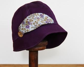 Little Girls Vintage Style Cloche Hat