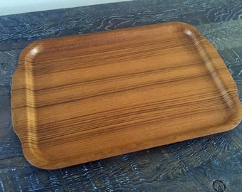 Danish Modern Teak Serving Tray By Silva of Sweden