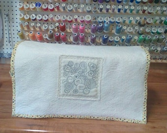 Oversize sewing/embroidery machine cover