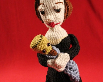 Mary Shelley Stuffie with Frankenstein Baby