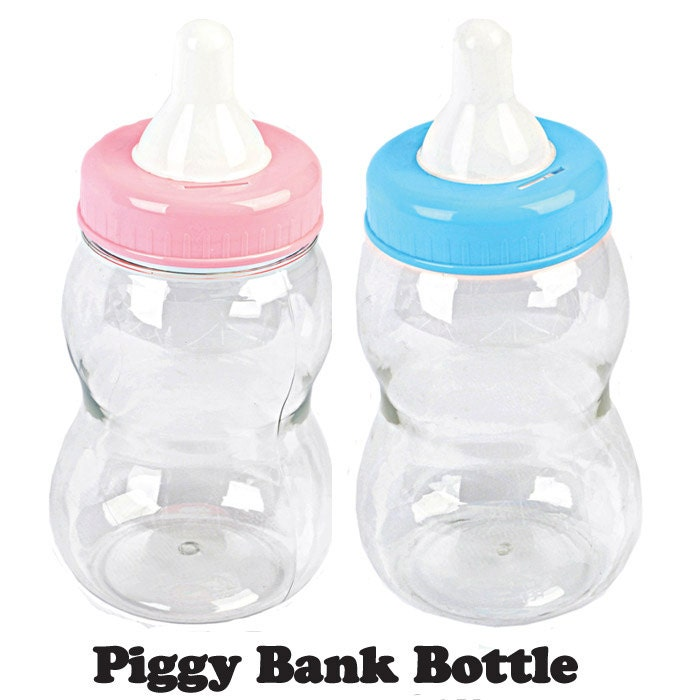 jumbo milk bottle coin bank baby shower souvenir favors