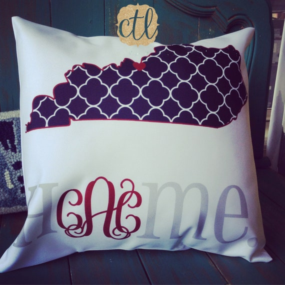 Love Pillow Case From Modern Family : Items similar to Personalized Family Pillow - State Pillow - I love My Home - 14x14 Pillow ...