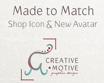 Made to Match Shop Icon for a Premade Design