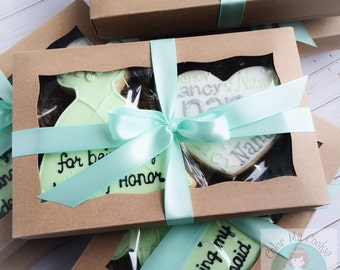 Thank You Bridesmaid SUGAR COOKIE GIFT Box