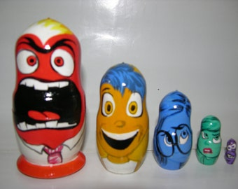 Inside Out nesting doll