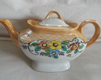 Art Deco Tashiro Shoten Lusterware teapot