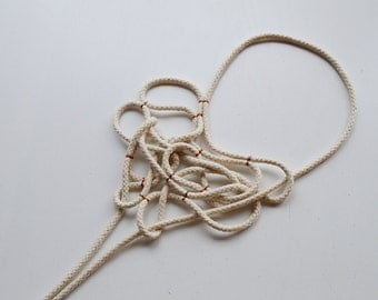 necklace ORGANIC ROPE I
