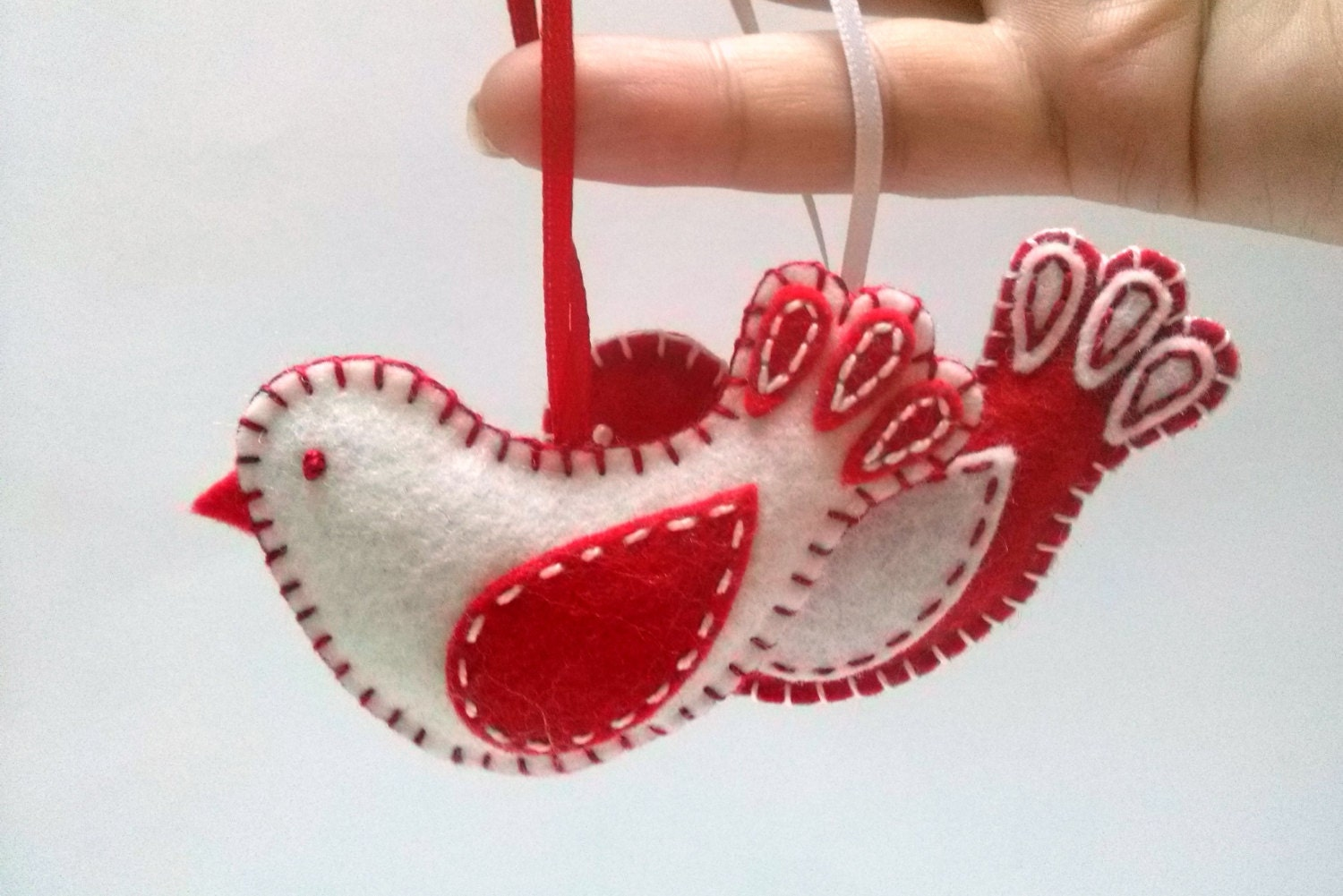Christmas felt ornaments -  Zoom