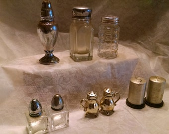 Salt and Pepper Shakers, Assorted
