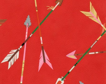 Alexander Henry - Me and My Arrow - #8292C - Red