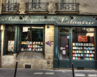 La Bibliotheque Ideale Librairie Paris France