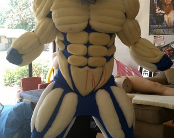 Super hero muscle suit 2x layer muscle