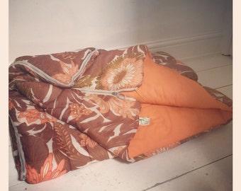 Retro 1970s Single Sleeping Bag