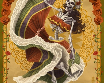 Dia De Los Muertos (Art Prints available in multiple sizes)