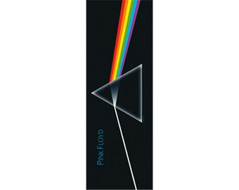 Pink Floyd - Dark Side of the Moon - Official Door Fabric Poster Flag - FREE SHIPPING