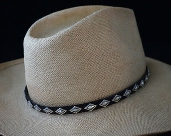 Sterling Silver Diamond Hatband ... Made to Order