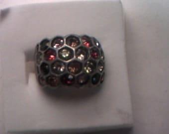 SALE-Vintage Honeycomb Ring