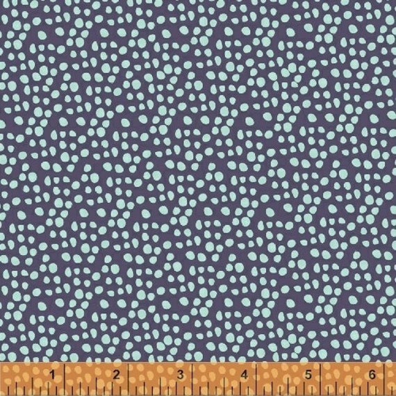 Windham fabrics garden party 38897 2 navy dots yardage by iza for Garden party fabric by blackbird designs