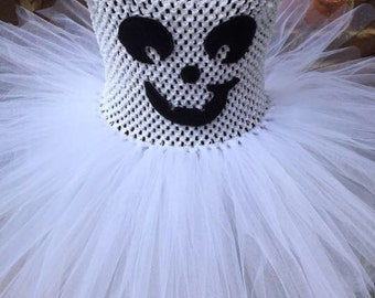 Smiley ghost tutu
