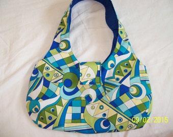 Sling Purse / Hobo Bag / Cotton Shoulder Purse